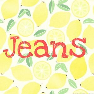 Jeans, Jeans & More Jeans